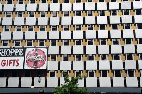 Building front off Bourbon