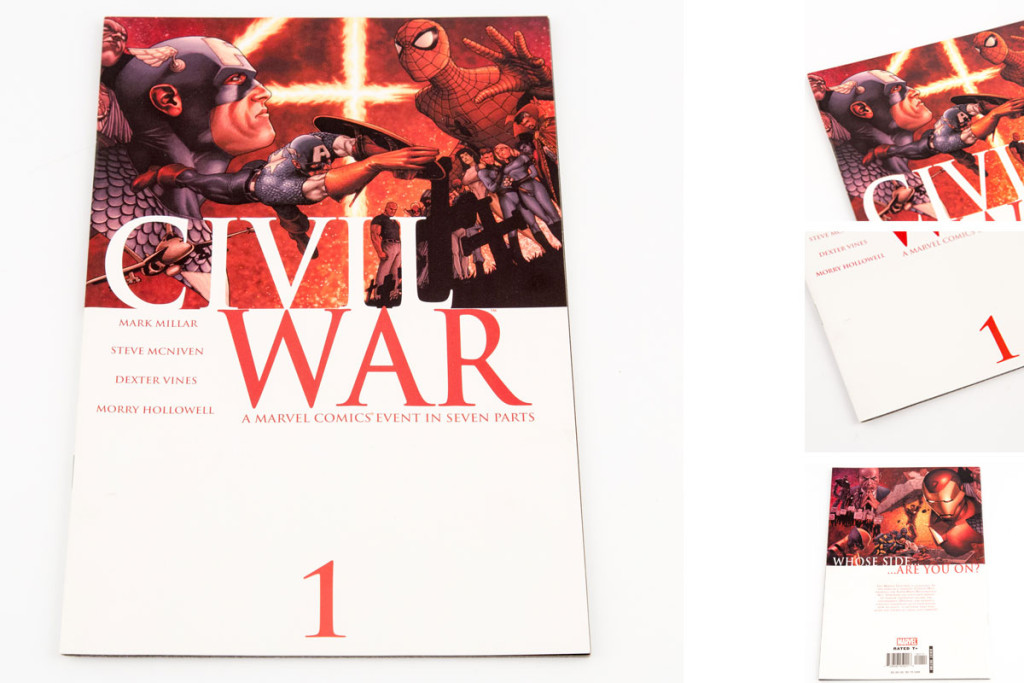 Marvel's Civil War #1